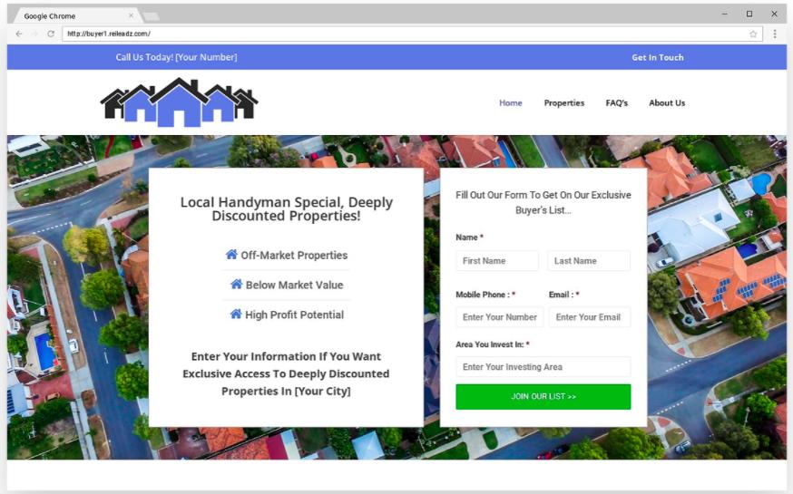 cash buyer website